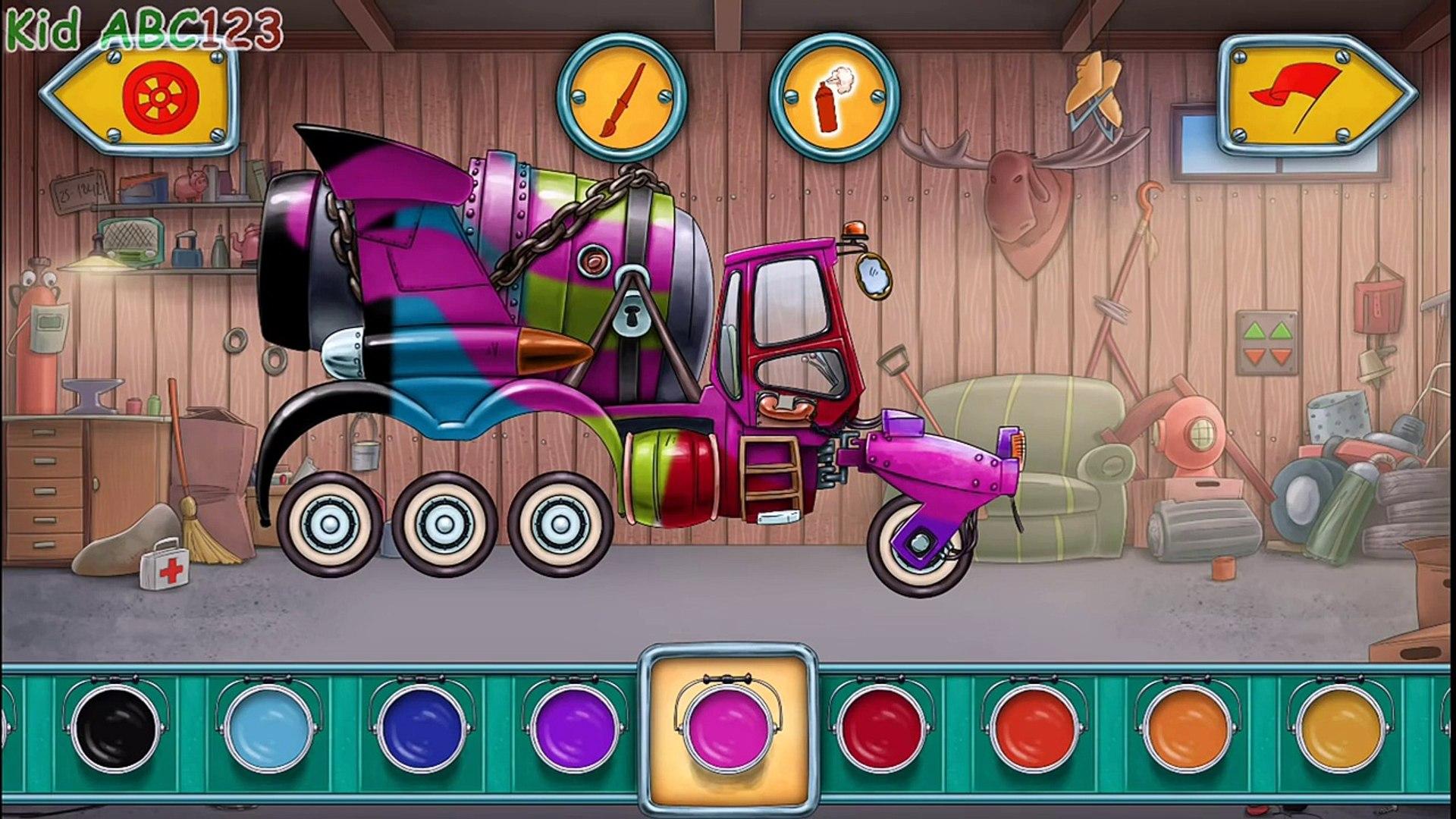 И программы автомобиль легковые автомобили дизайн водить машину для игра Дети грузовая машина Mulle