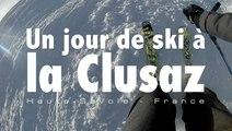 Un jour de ski à la Clusaz