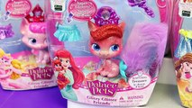 NEW Disney Palace Pets Collection Princess Dolls Ariel Little Mermaid, Rapunzel, Cinderell