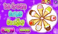Ice Cream Cone Cupcakes Gameplay - Fun Cooking Games