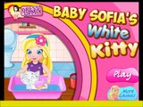 Baby Sofias White Kitty - video for babys fun-baby games-caring games