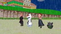 Frozen Songs Rain Rain Go Away Nursery Rhymes Frozen Elsa Anna Rain Rain Go Away Rhymes
