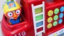Mundial de Juguetes & Pororo Fire engine cars Playset Toys & Pororo Bus Toys