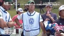 【女子ゴルフ】松森彩夏 キャディ悲劇!前代未聞!ボールがヘディングで池ポチャ!こんなの初めて観た
