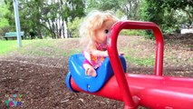 BABY ALIVE Playground Fun - Frozen Toys, Anna Doll, Swings and Slides - Ingrid Surprise