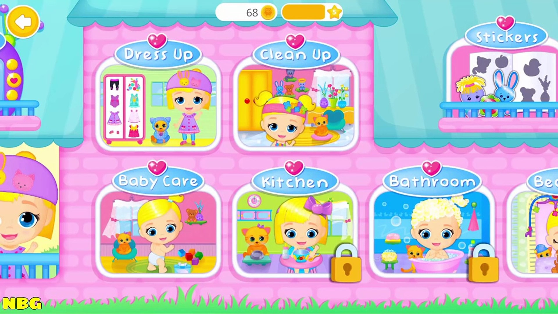 Baby Doll House To Play The Cutest Baby And Pet Care Games For Kids And Toddlers!