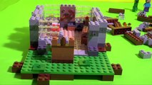 Aventure MINECRAFT et LEGO Bataille avec le Creeper ✯ MINECRAFT LEGO Adventure Creeper Bat