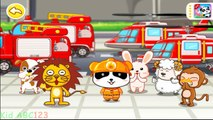 Little Panda Fireman BabyBus Kids Games - Free Apps for Kids Toddler Preschooler and Babys