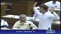 Imran Khan Brilliant Reply To PMLN in Parliament