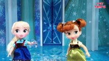 Elsa and Anna Toddlers Playing in the Snow! Do you wanna build a Snow Man   Frozen