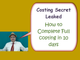 Costing Paper Secret Leaked. Tips to Complete Costing Paper in 10 days. Be topper of Costing