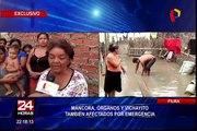 Piura: Máncora, Los Órganos y Vichayito afectados por lluvias