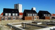 Wethouders Mourik en Van der Schaaf starten officieel bouwfase 6 'Het Land' / Spijkenisse 2017