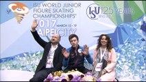 Dmitri ALIEV SP - World Junior Figure Skating Championships 2017 -