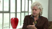 Geldof: UK has moral and political authority to help Africa