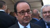 Réaction depuis Toulon du président de la République