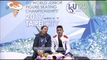 Kevin AYMOZ SP - World Junior Figure Skating Championships 2017 -