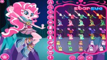 My Little Pony Equestria Girls Pinkie Pie Legend Of Everfree Dress Up - Baby Girl Games fo