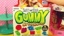 Gummy Bear Candy Maker DIY Treats + Worlds Largest Giant Bear Gummy DisneyCarToys