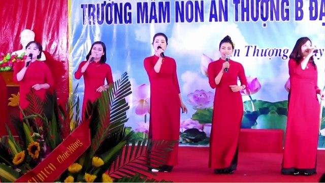 Bài ca Cô giáo trẻ - Tốp ca các cô giáo trường MNAT-B biểu diễn