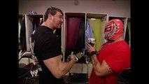 Eddie Guerrero, Rey Mysterio, Chavo Guerrero Backstage SmackDown 03.10.2005