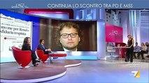 Danilo Toninelli (M5S) a L'aria che tira 16/3/2017 - MoVimento 5 Stelle