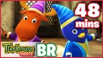 Os Backyardigans Desenho Animado - Episódios 39-40 Compilação De 48 mins Para Crianças