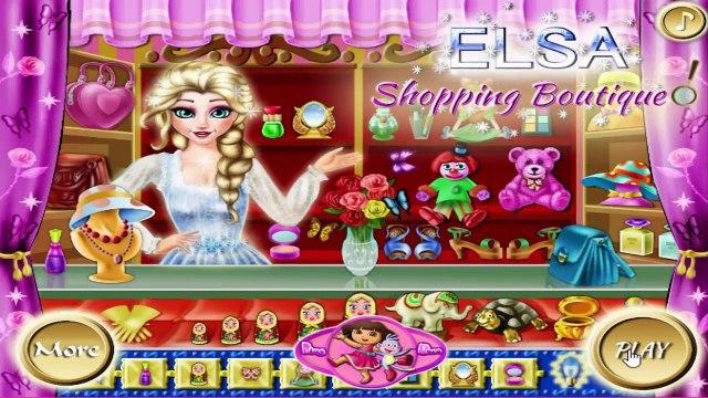 Disney Frozen Games - Elsa Shopping Boutique – Best Disney Princess Games For Girls And Ki