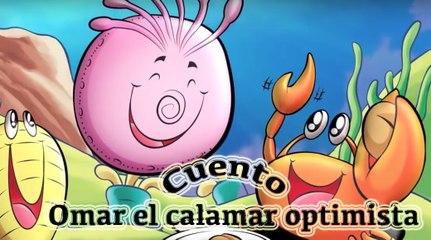 Story in Spanish:  Omar el calamar optimista (Omar the optimist squid pig)