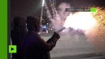A Montréal, les manifestants bravent le mauvais temps contre la brutalité policière