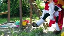 PJ Masks Catboy saves Paw Patrol Rubble from Captain Hook - PJ Masks Adventures In Real Li
