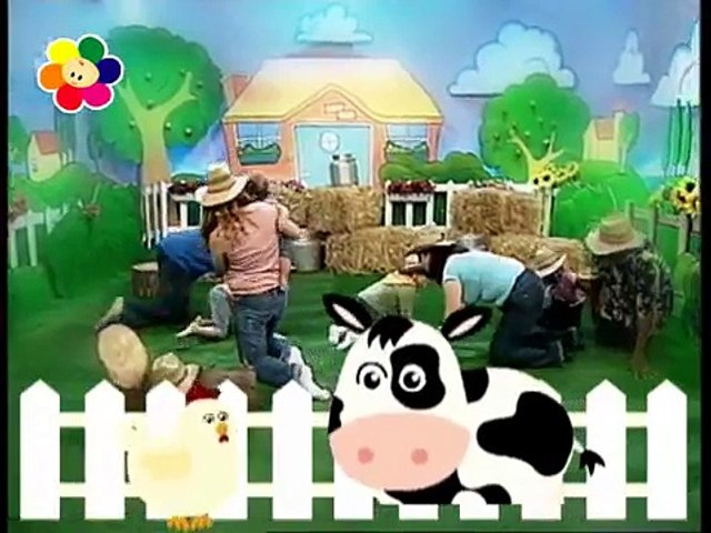 Old MacDonald with Color Crew | Nursery Rhymes for kids | Music Videos | BabyFirst TV