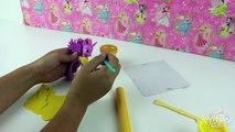 Disney Princess Ariel Rapunzel Cinderella Belle & Aurora PLAY DOH DRESS UP Fun Figurine Cr