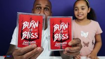 BURN OR BLISS! Extreme Hot & Spicy Chocolate Challenge - Family Fun Games#