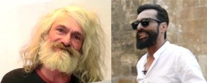 Homeless man transformed into hipster in incredible turnaround video