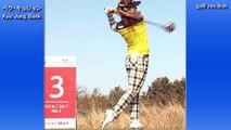 【ペクキュジョン】Q Baek golf swing,スイング解析,Kyu Jung Baek