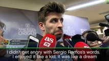 Pique not angry with Ramos PSG comments