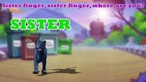 3D Dancing Cat Finger Family Song | Crazy Cats Finger Rhyme | Funny 3D Daddy Finger Nurser