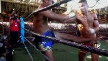 Myanmar Lethwei - Soe Lin Oo ( Myanmar ) vs Bobby Rice  ( Thailand )