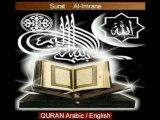 5/7 Al-Imrane islam Quran arabic english bible jesus koran