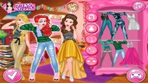 Disney Princess College Dress Up | Disney Games Videos For Kids And Girls | DG Top Baby Ga