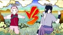 Team 7 Reunites - Naruto , Sakura , Kakashi vs Sasuke : Naruto Shippuden Ultimate Ninja St