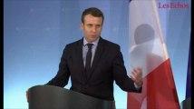 Macron : « je suis le seul candidat vraiment pro-européen, et j'en suis fier »