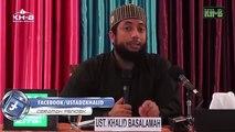 Hisab Disini Lebih Mudah Daripada Hisab DISANA  - Ustadz Dr Khalid Basalamah MA