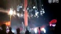 En Chine un manège de chaises volantes s'écroule et fait 9 blessés