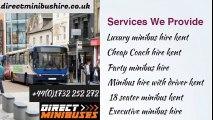 Minibus hire with driver kent | Luxury minibus hire kent | 18 seater minibus kent
