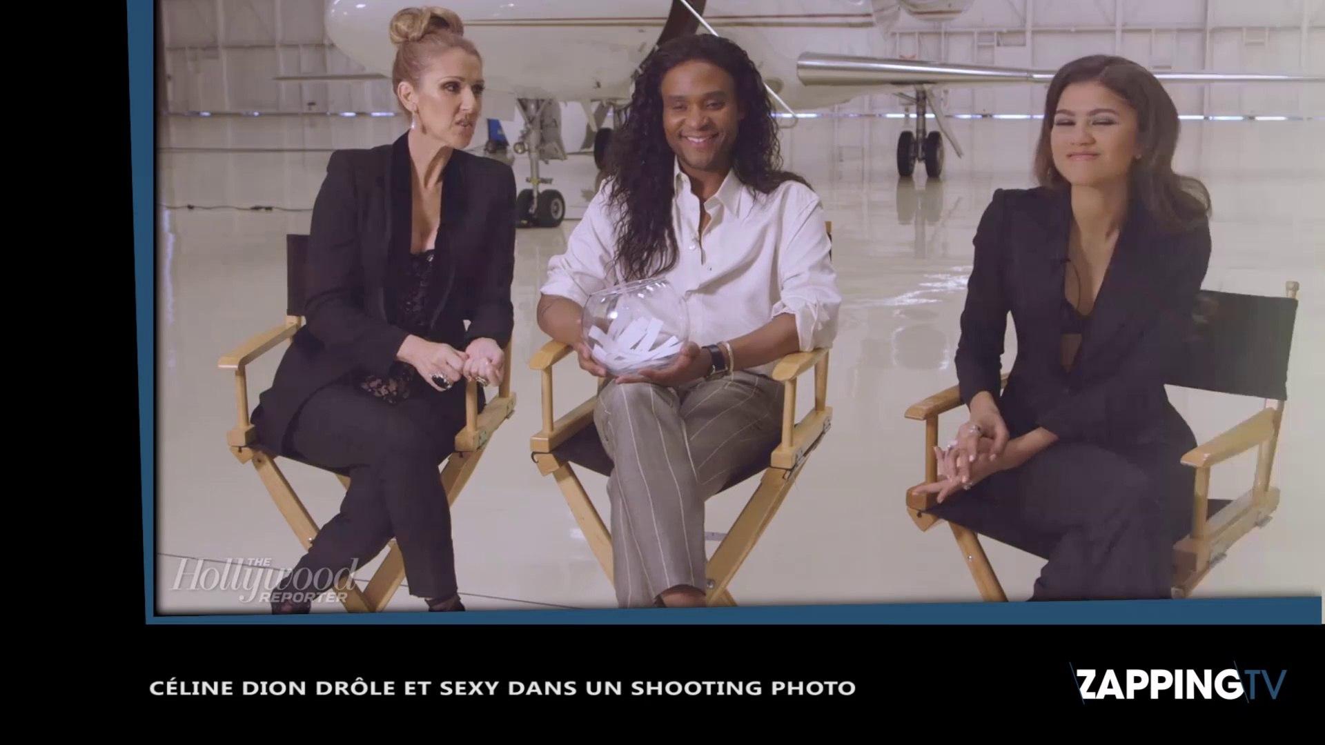 Celine Dion Drole Et Sexy Dans Un Shooting Photo Video Dailymotion