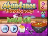 Abundance Tomato Soup With Basil Oil -Cartoon For Children -Best Kids Games -Best Video Ki