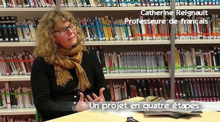 CARDIE_Caen - Une écriture collaborative de type fanfiction (CLG Rémalard - 61)