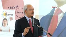 Aydın Nazilli CHP Lideri Kılıçdaroğlu, Nazilli Ahmet Şensan Salonu'nda Stk Toplantısında Konuştu-4